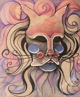 cat lady 01